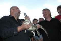 7Projektat zoo Jaromír Havlíček pokřtil krokodýla kubánského. Samičku pojmenoval po sobě - Míra.